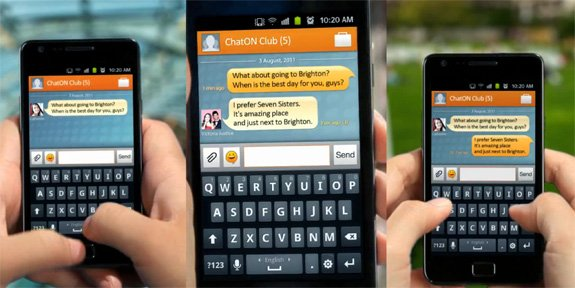 chat sms mobile
