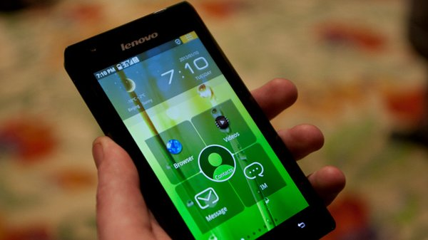 CES 2012: Lenovo Debuts the K800, Intel's First Android Phone - Tested