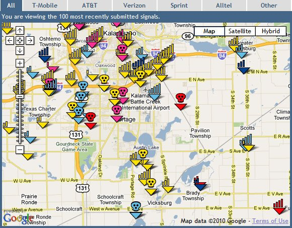 How To Find Your Nearest Cell Phone Tower For Fun And Profit Tested: Cell Tower Locations Map At Slyspyder.com
