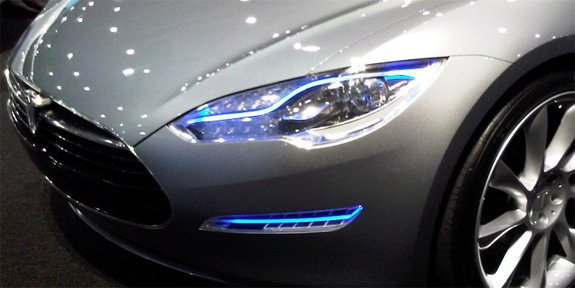 Led Headlights Promise Longer Night Drives For Electric Cars Tested