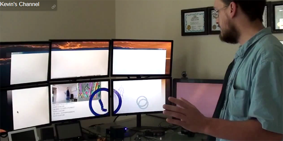 Kinect SDK Powers Hobbyist Natural User Interface [Video] - Tested