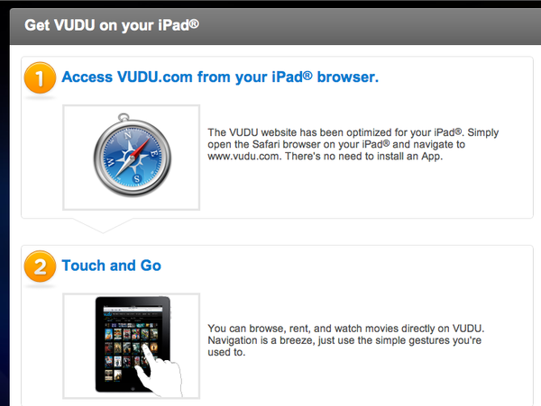 Amazon and VUDU Bypass iOS Restrictions with HTML5 Web Apps