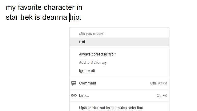 how to change the spell check language in google docs