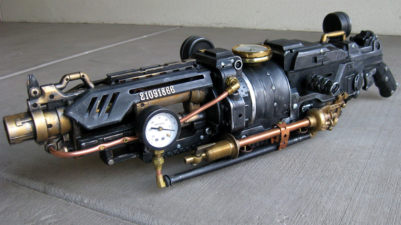 Steampunk Nerf Vulcan is a Mod of Beauty