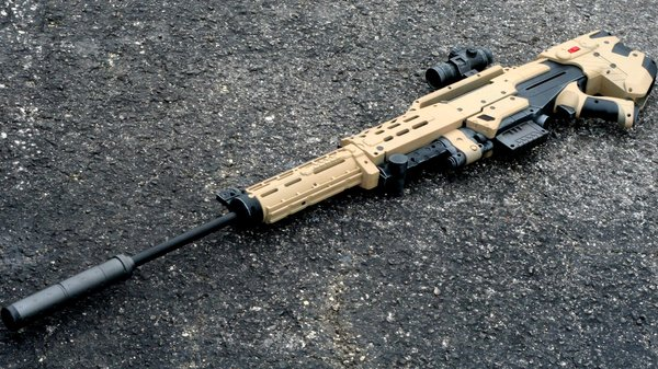 Inside, the M4 Arctic Black Camo gun modifications include a full set  internal rewiring, internal lubrication, magazine quick release lever and  an upgraded ...