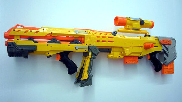 3D Printed Nerf Halo 5 Assault Rifle Takes Humans vs. Zombies Game to a  Whole