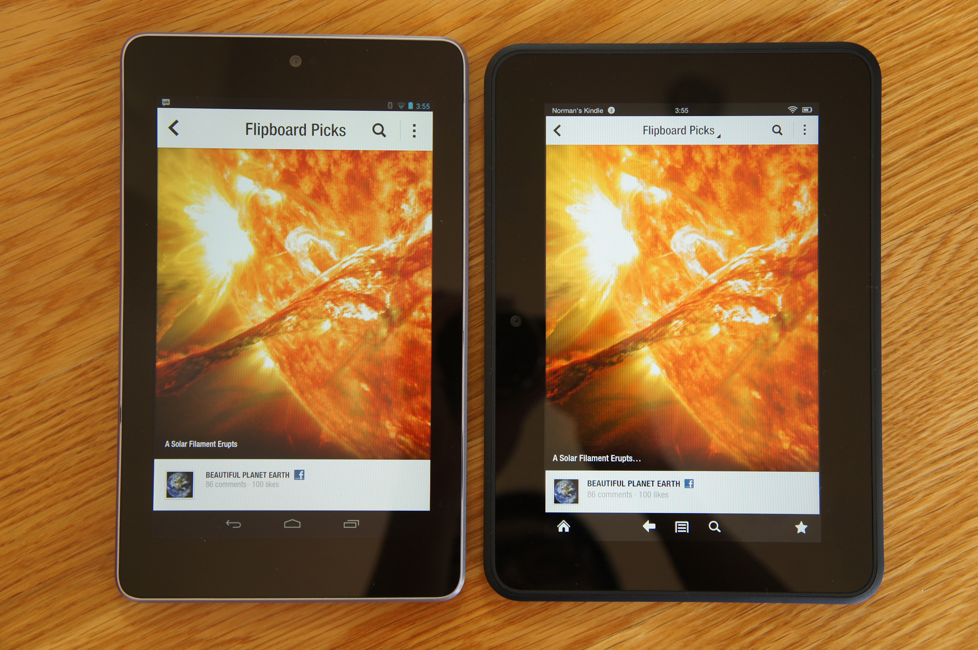 Testing: Amazon Kindle Fire HD vs  Google Nexus 7 - Tested