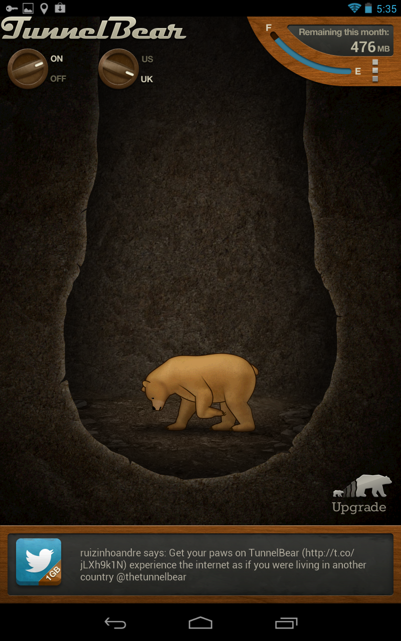 Google Play App Roundup: TunnelBear VPN, Wild Blood, and