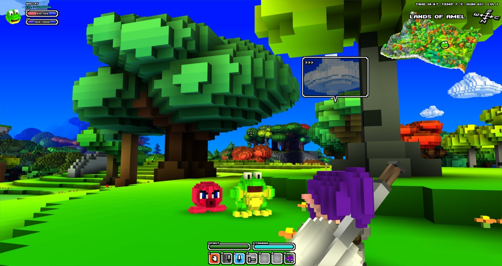 Bringing back the voxel starforge cube world and the return of a by daylight cube world is dominated by bright cheerful colors gumiabroncs Gallery