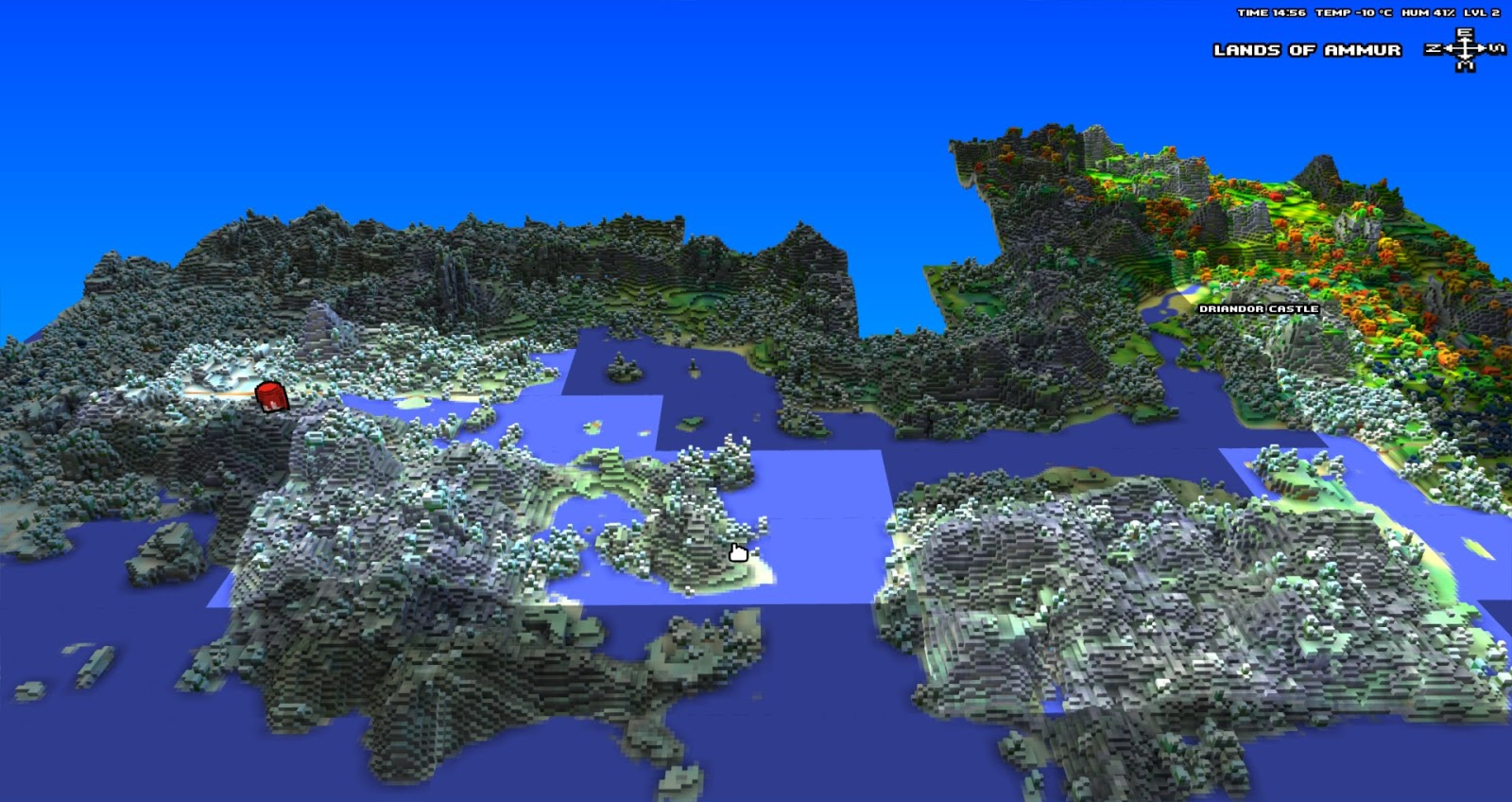 Cube World Map.Bringing Back The Voxel Starforge Cube World And The Return Of A