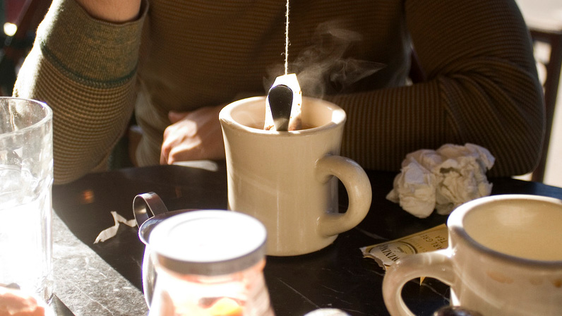 Dispelling The Myth Of Tea Bag Dunking Tested