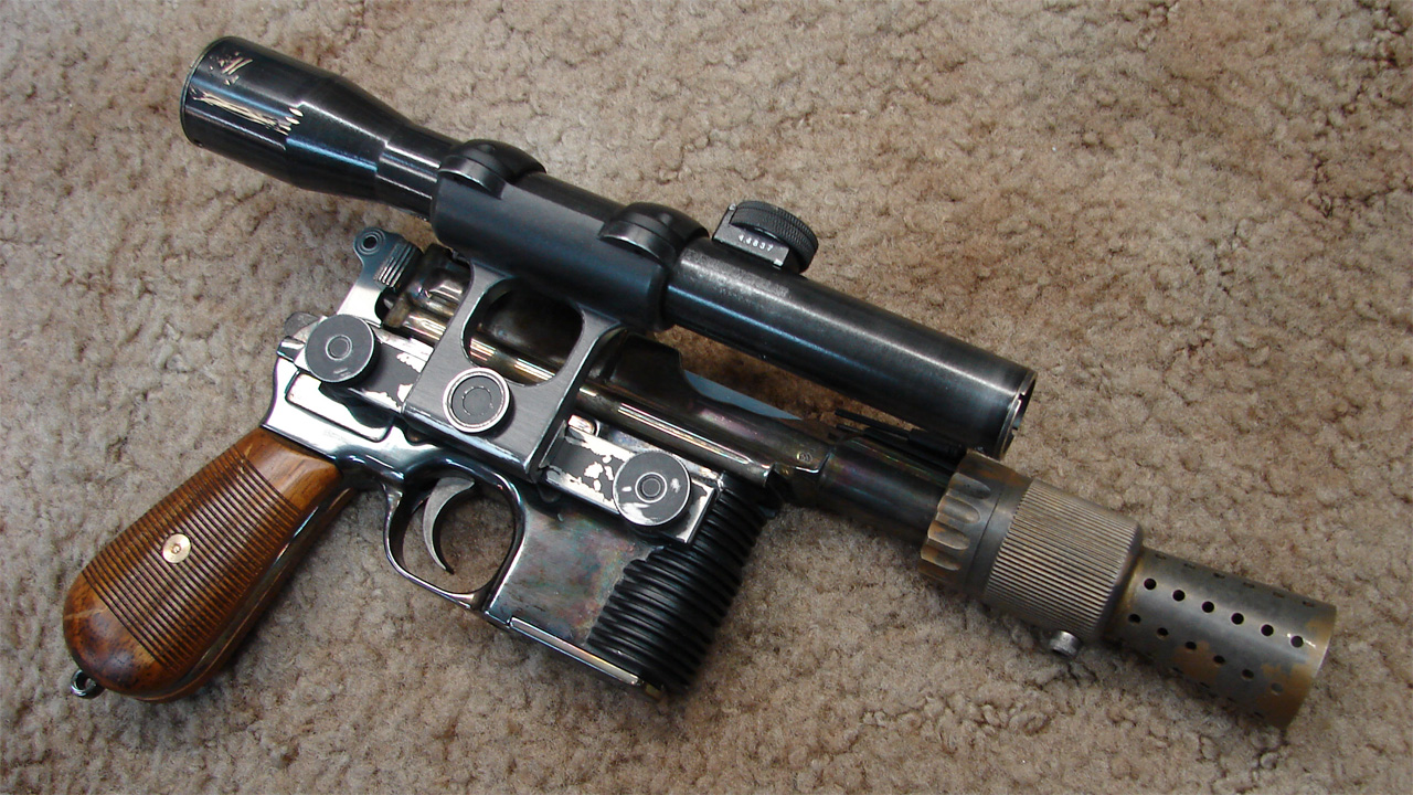 How Obsessive Fans Built a Better Han Solo Blaster - Tested