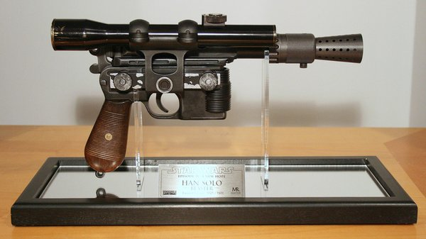 Master Replicas style Blaster display han solo dl44 anh replacement New
