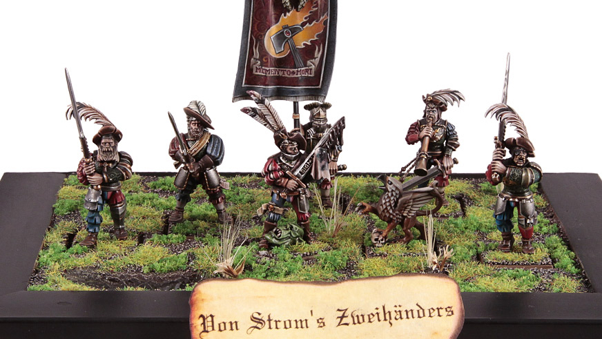 Painting Cool White Miniatures
