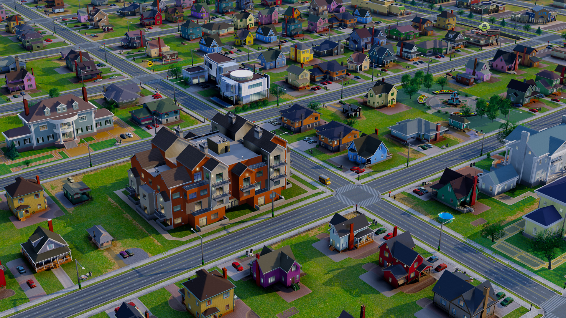 Simcity vs the suburban sprawl tested for House planning games