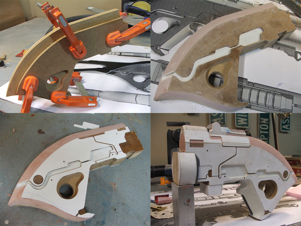 How can you make foam props?