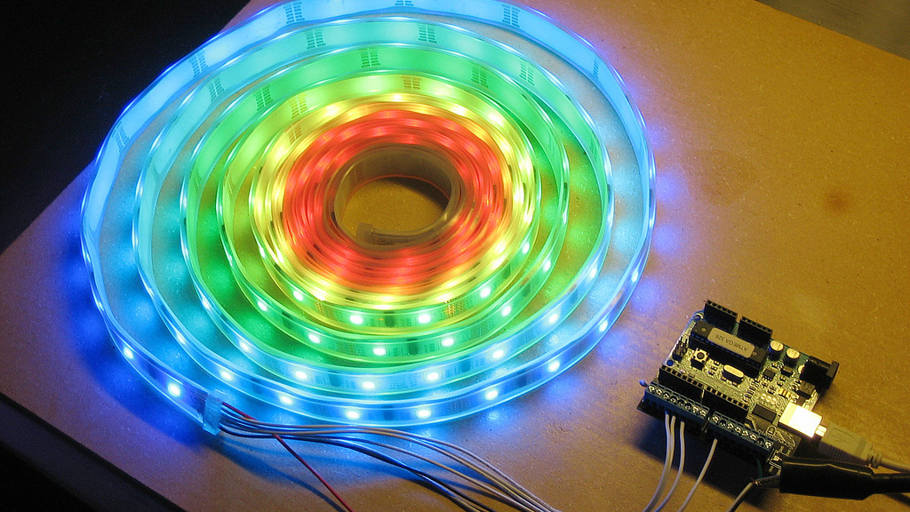 How to get started with programmable rgb led strip lighting tested aloadofball Choice Image