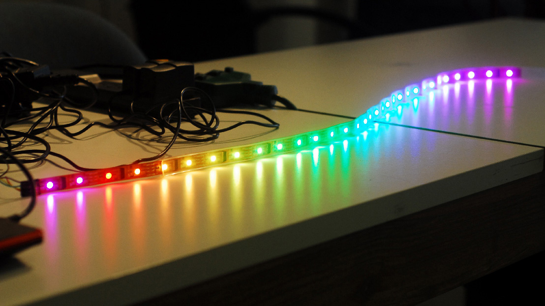 how to get started with programmable rgb led strip. Black Bedroom Furniture Sets. Home Design Ideas
