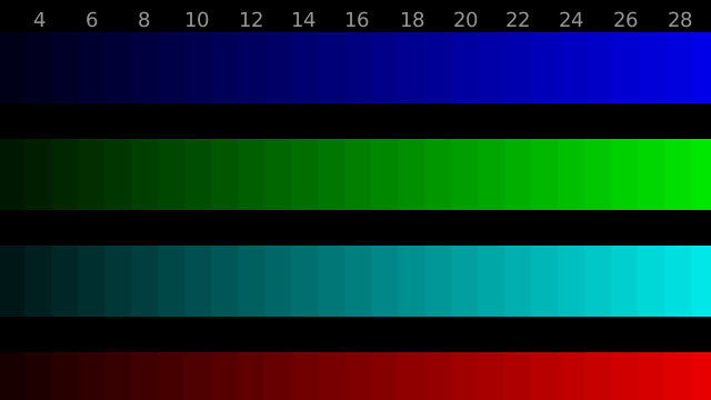 how to change color set of monitor