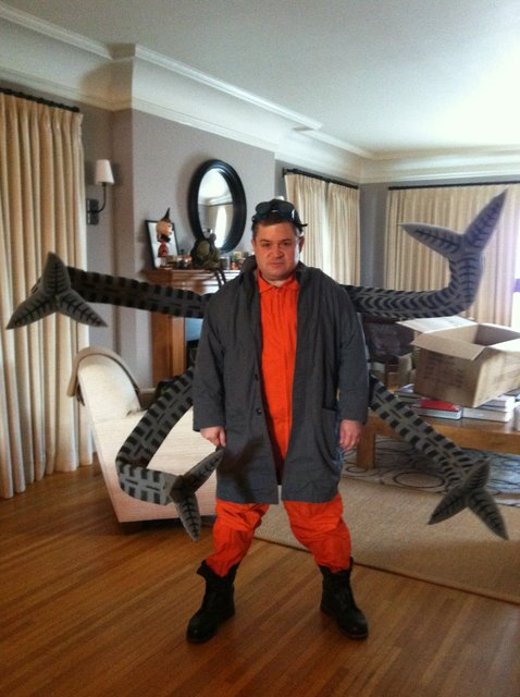 Behind The Scenes Of Patton Oswalts Doc Ock Halloween Costume Tested
