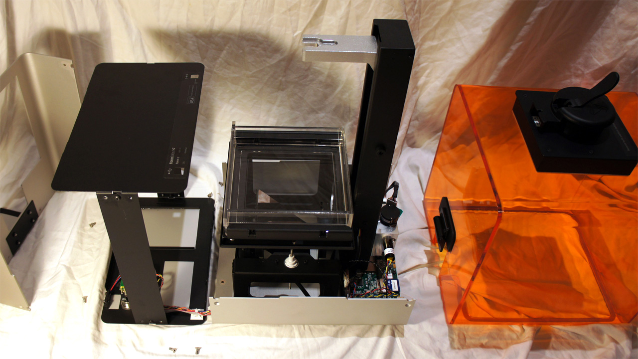 Bunnie Huang Finds the Form 1 3D Printer an Easy Teardown - Tested