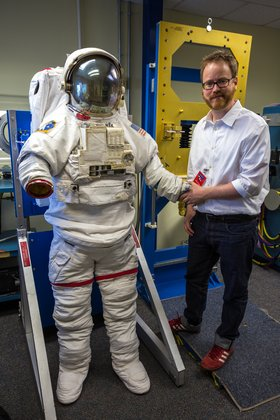 Photo Gallery Up Close With Nasa S Emu Space Suit Tested