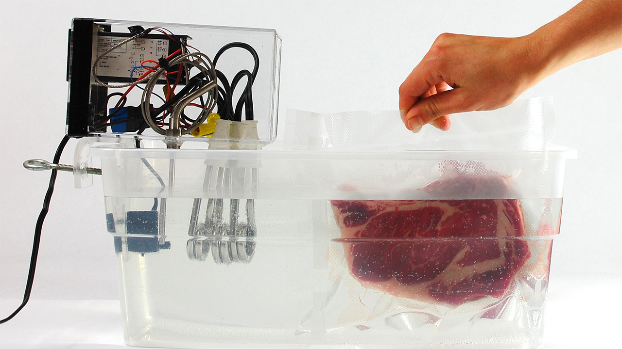 home made sous vide machine