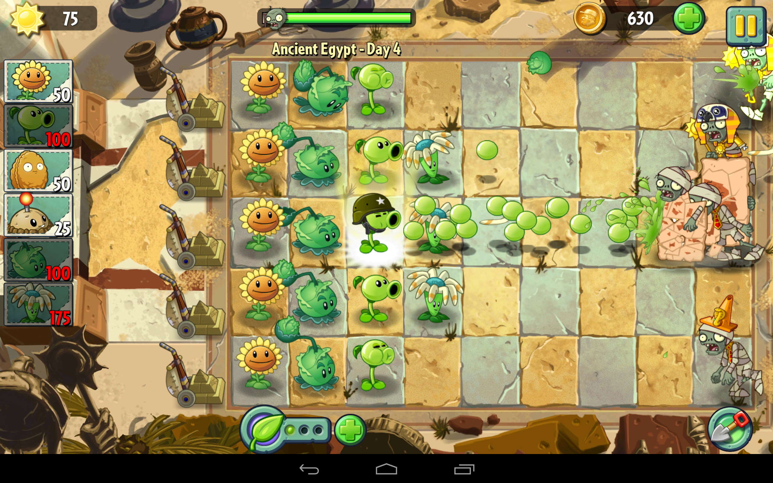 Google play app roundup plants vs zombies 2 power grid and dead in addition to the regular plant defense aspect plants vs zombies 2 includes a few new game mechanics zombies will occasionally drop plant food voltagebd Gallery