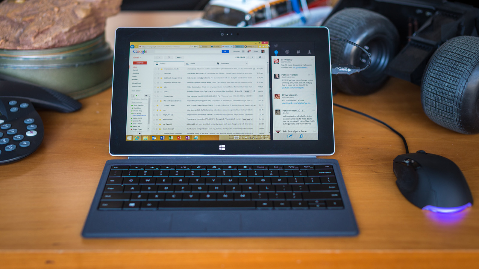 Testing: Microsoft Surface 2 as a Laptop - Tested