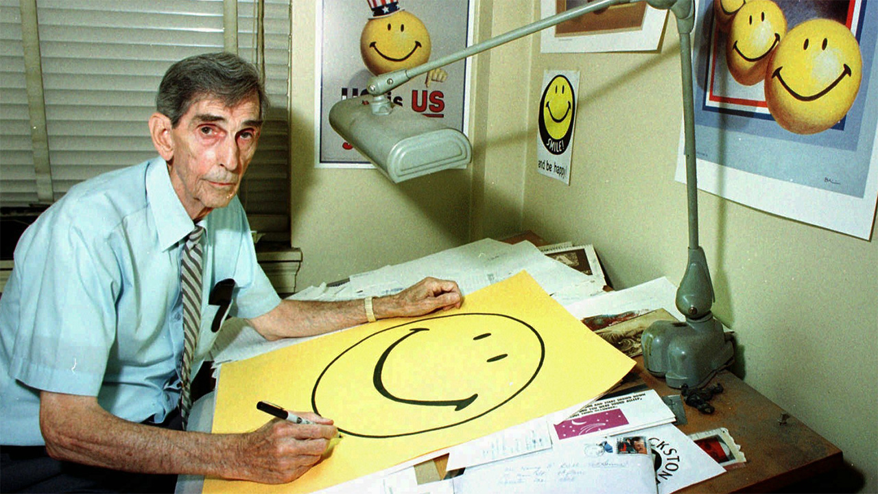 aceb9651a167 The Real Smiley Face Was Created 50 Years Ago This Month - Tested