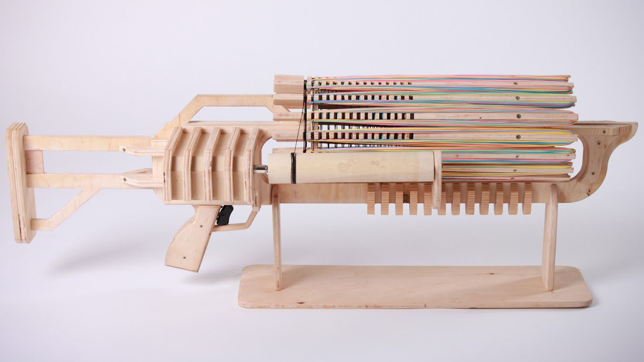 In Brief: Rubber Band Machine Gun Kickstarter - Tested