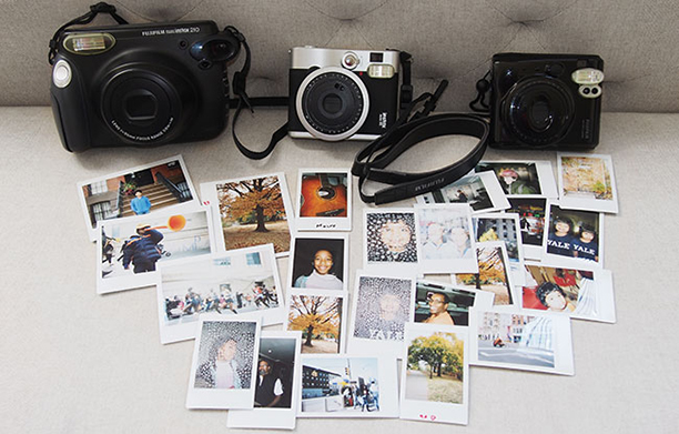 The Fujifilm Instax Trio From Left To Right 210 Mini 90 And 50S
