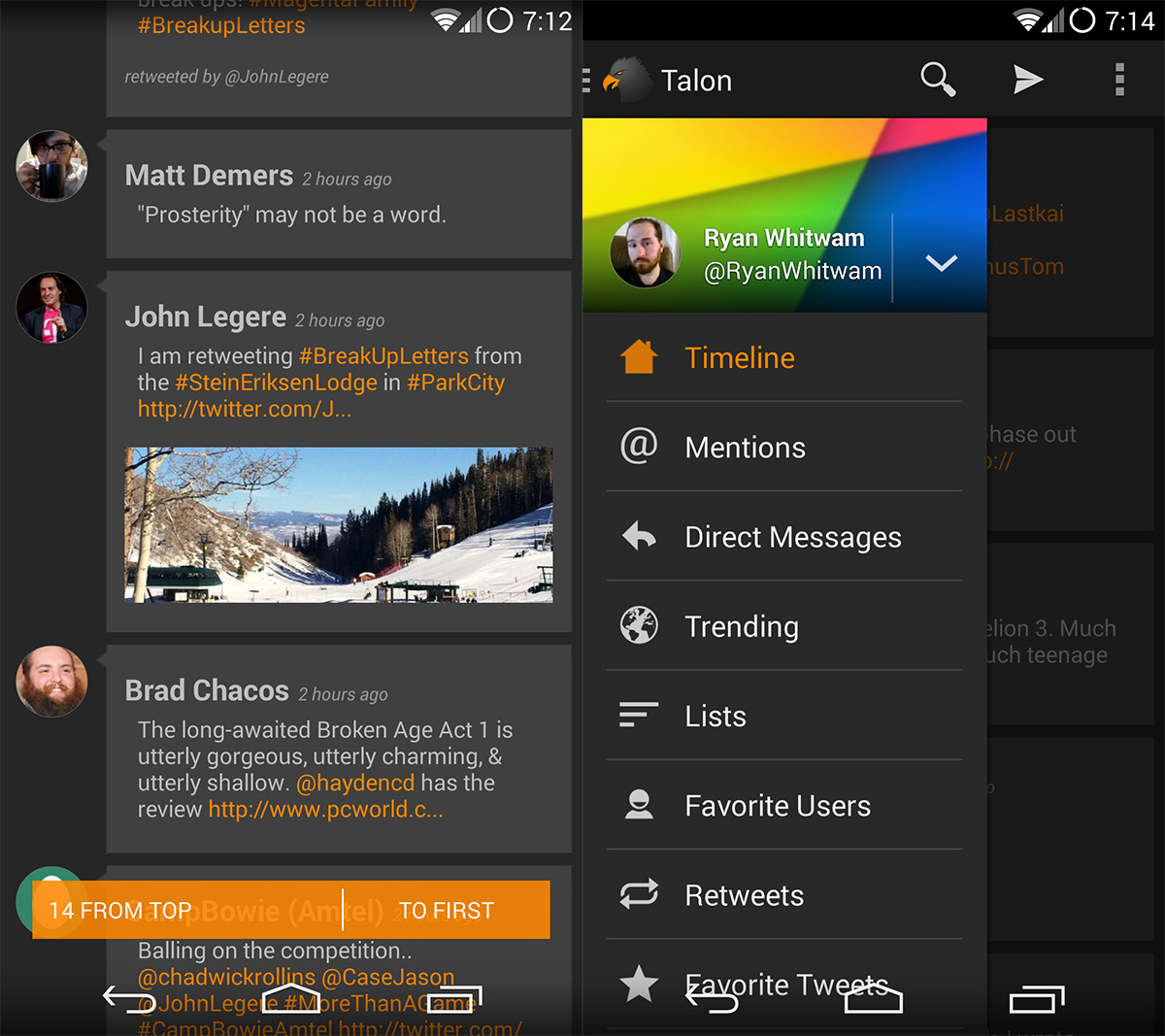 Google Play App Roundup: Talon, Tank Riders 2, and 12Hours - Tested