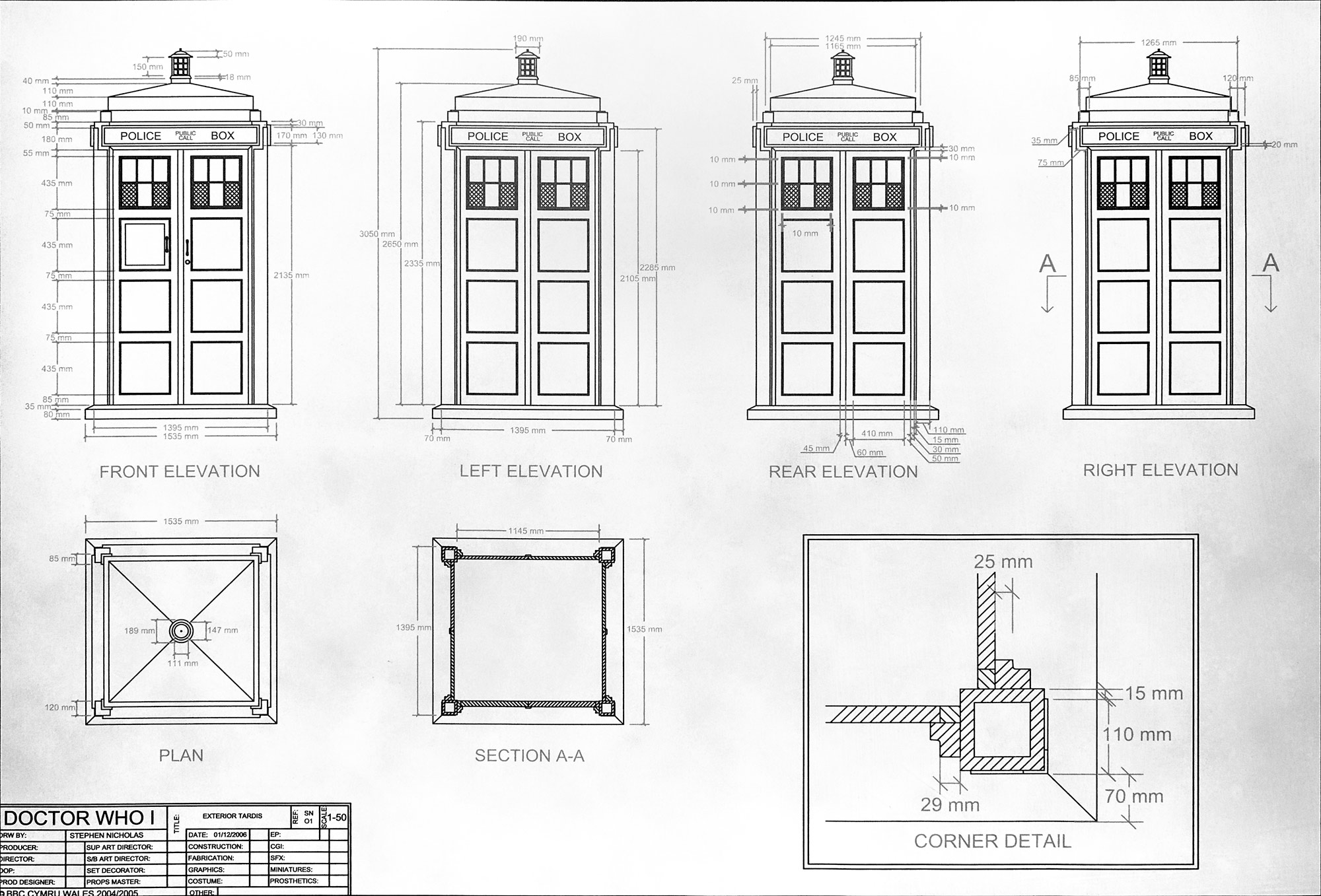 Bits to atoms 3d printing an accurate replica tardis tested the best laid plans malvernweather Images