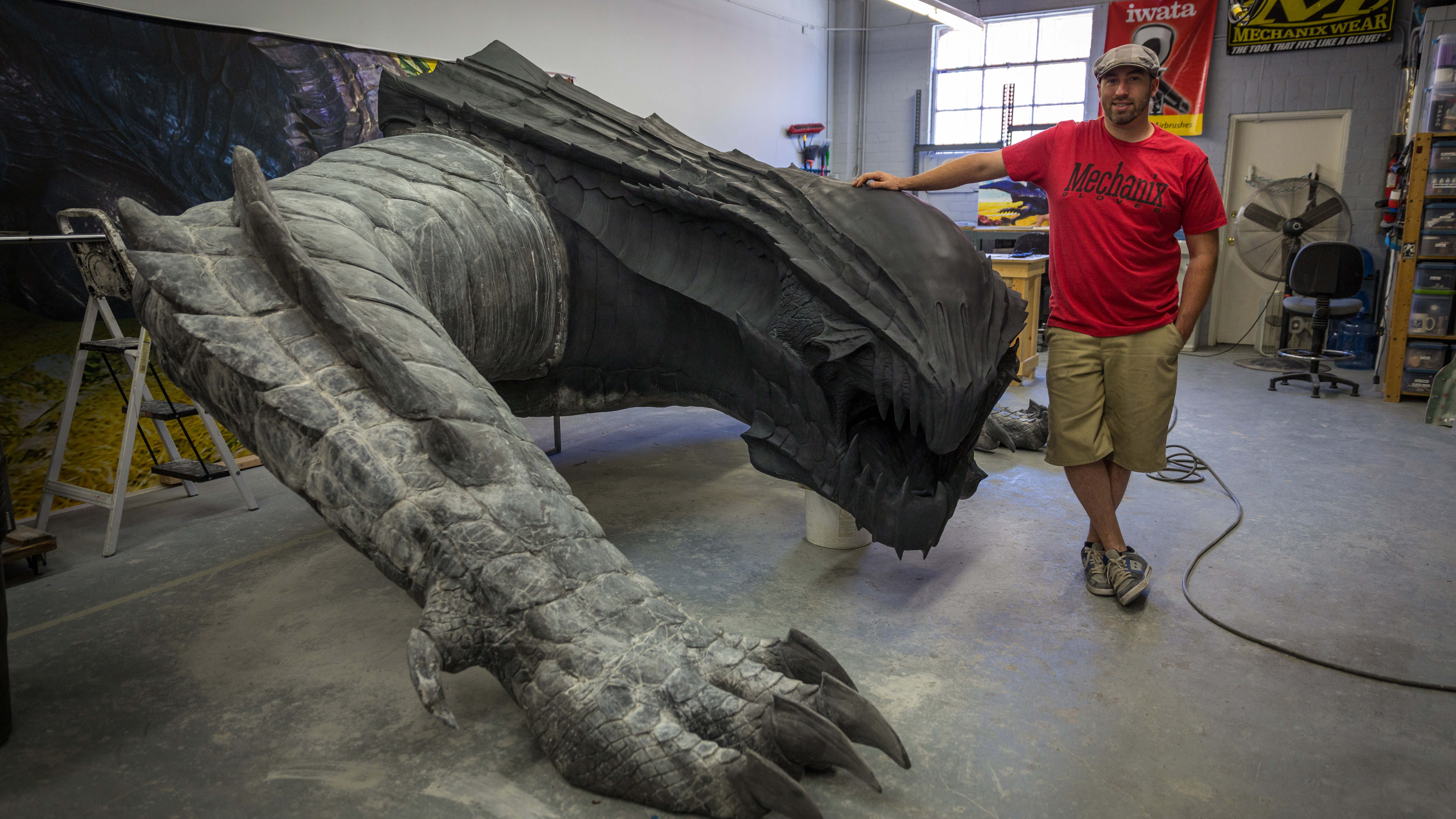 How To Build A Lifesize Dragon