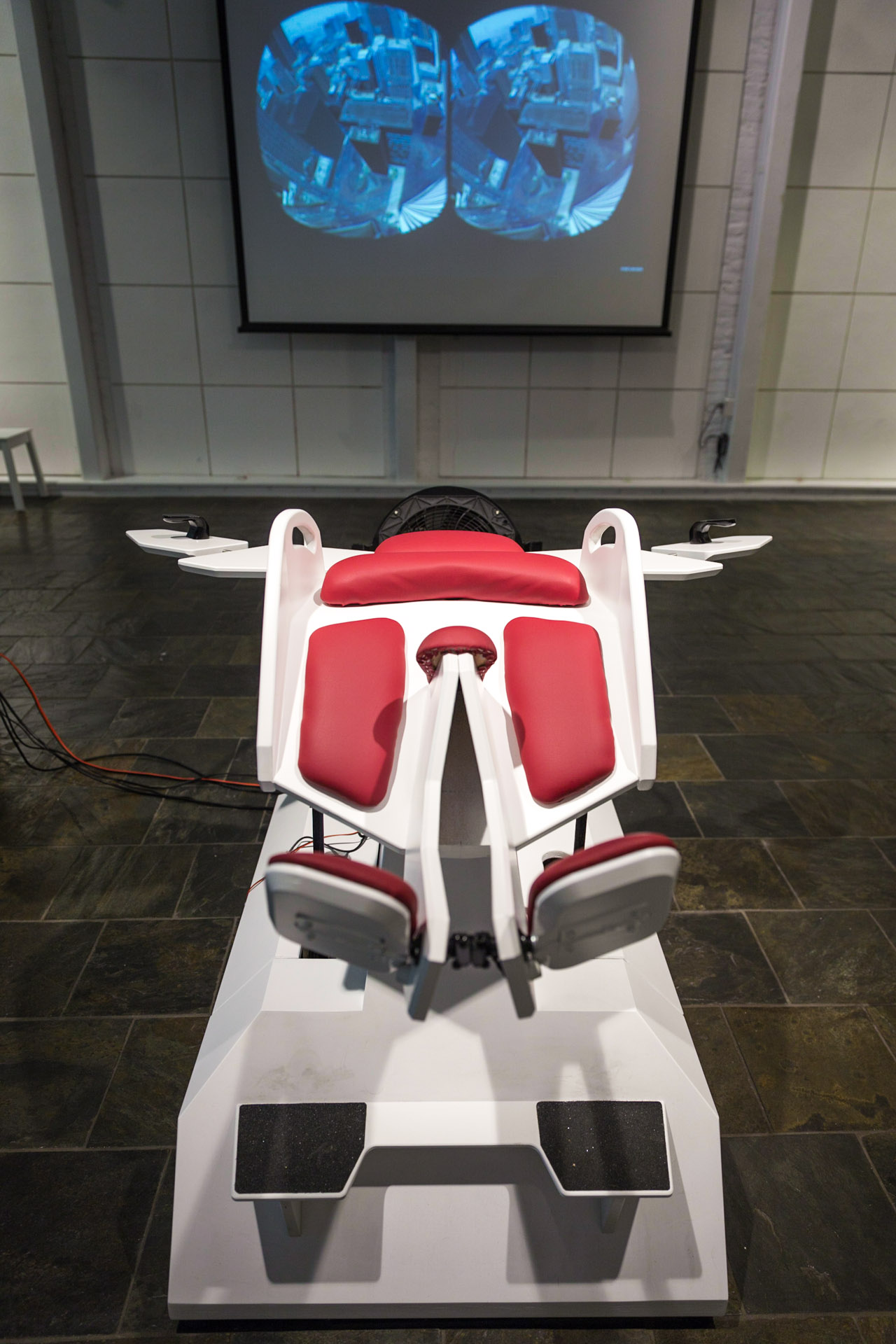 Hands-On with Birdly, a Virtual Reality Flight Simulator