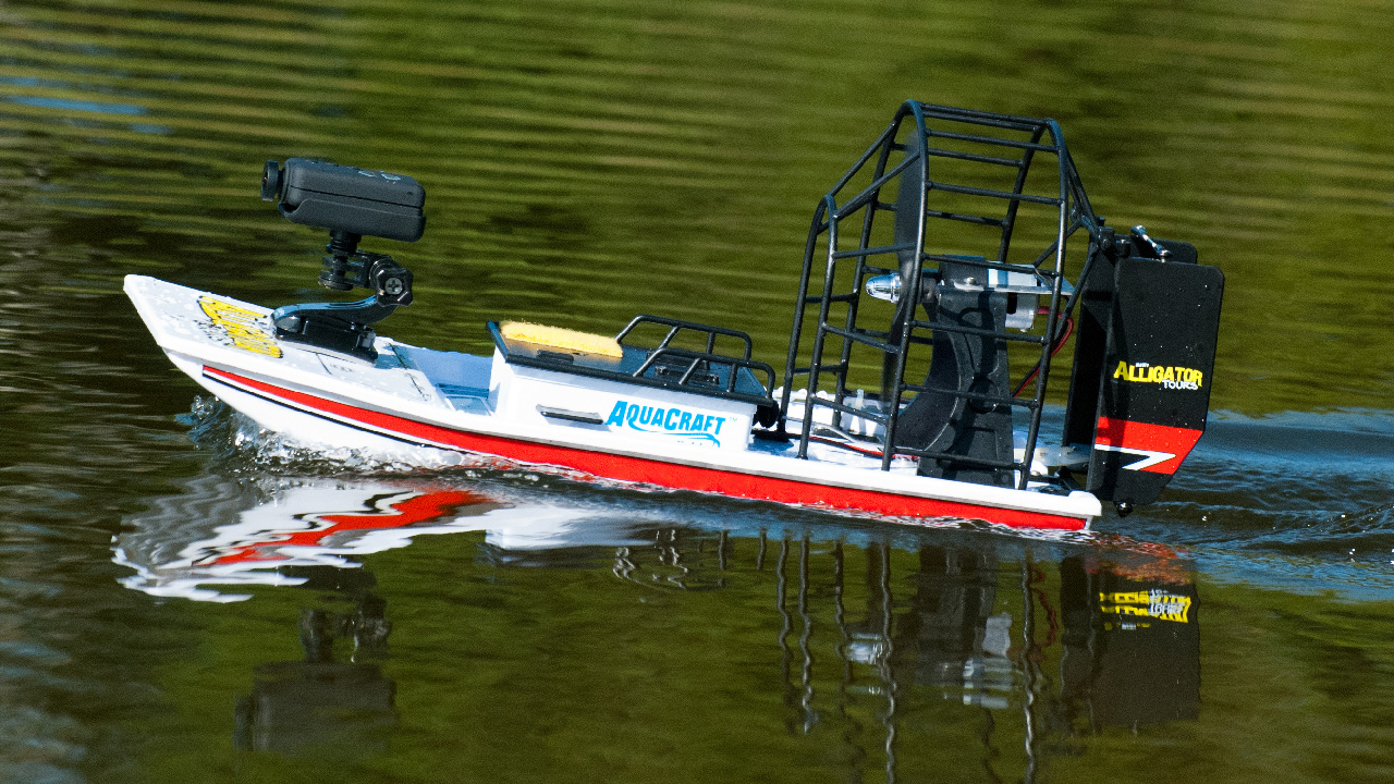 How To Get Into Hobby RC: Testing and Upgrading an Airboat