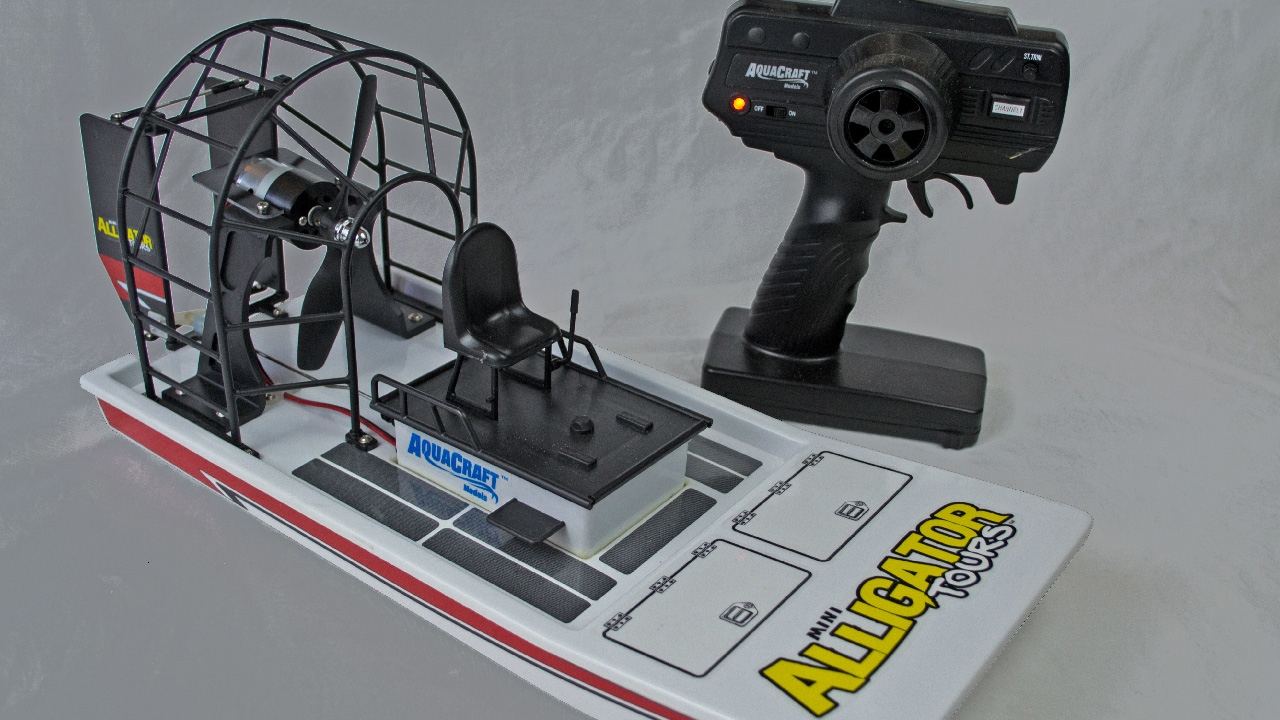 How To Get Into Hobby RC: Testing and Upgrading an Airboat ...