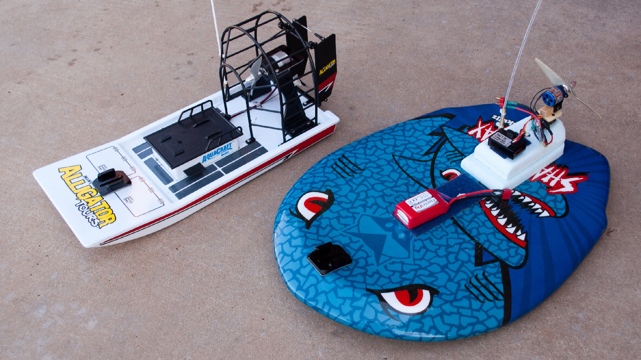 Building and testing a custom rc airboat tested solutioingenieria Gallery