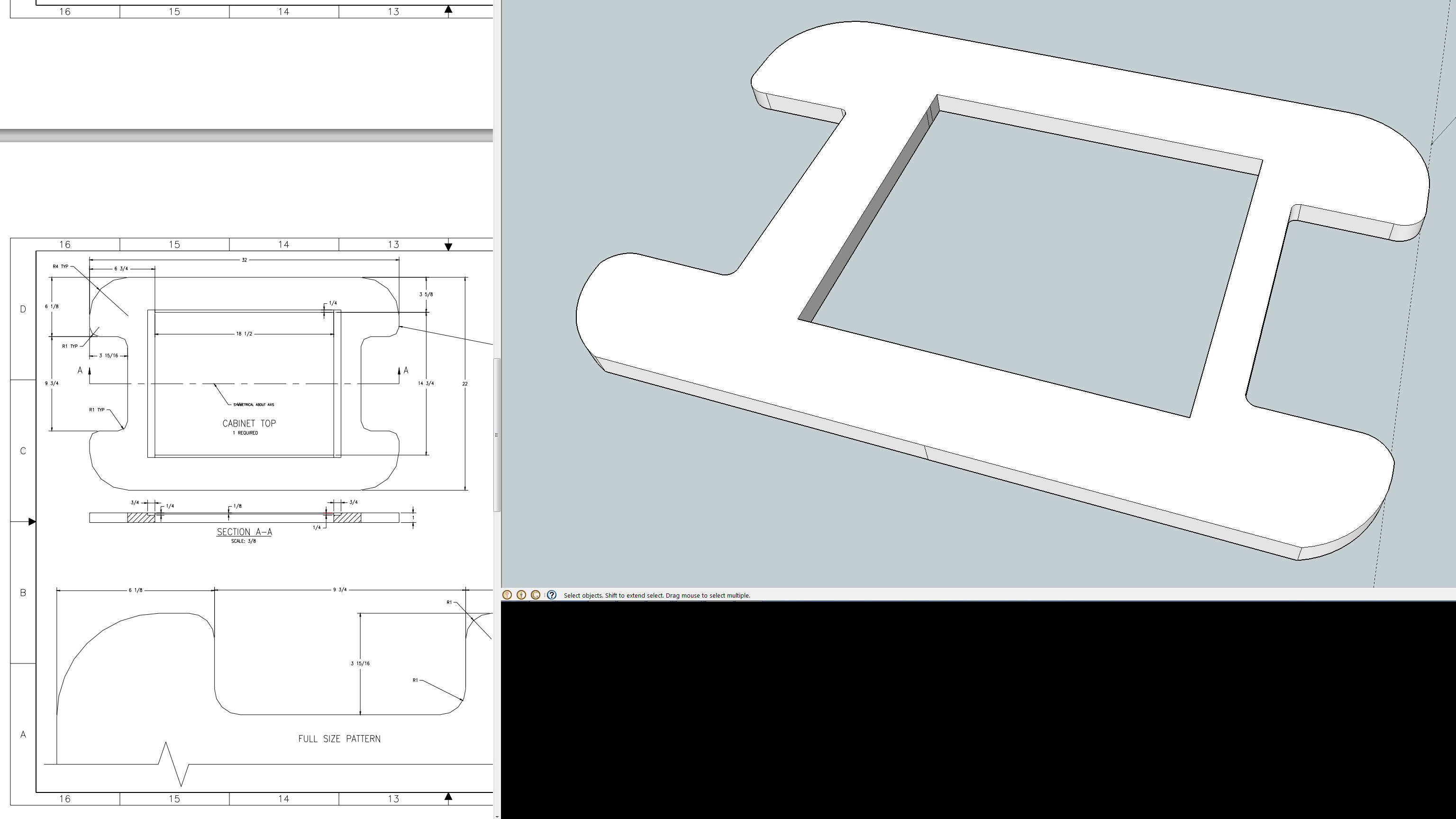 Designing a Custom Arcade Cabinet in Sketchup - Tested