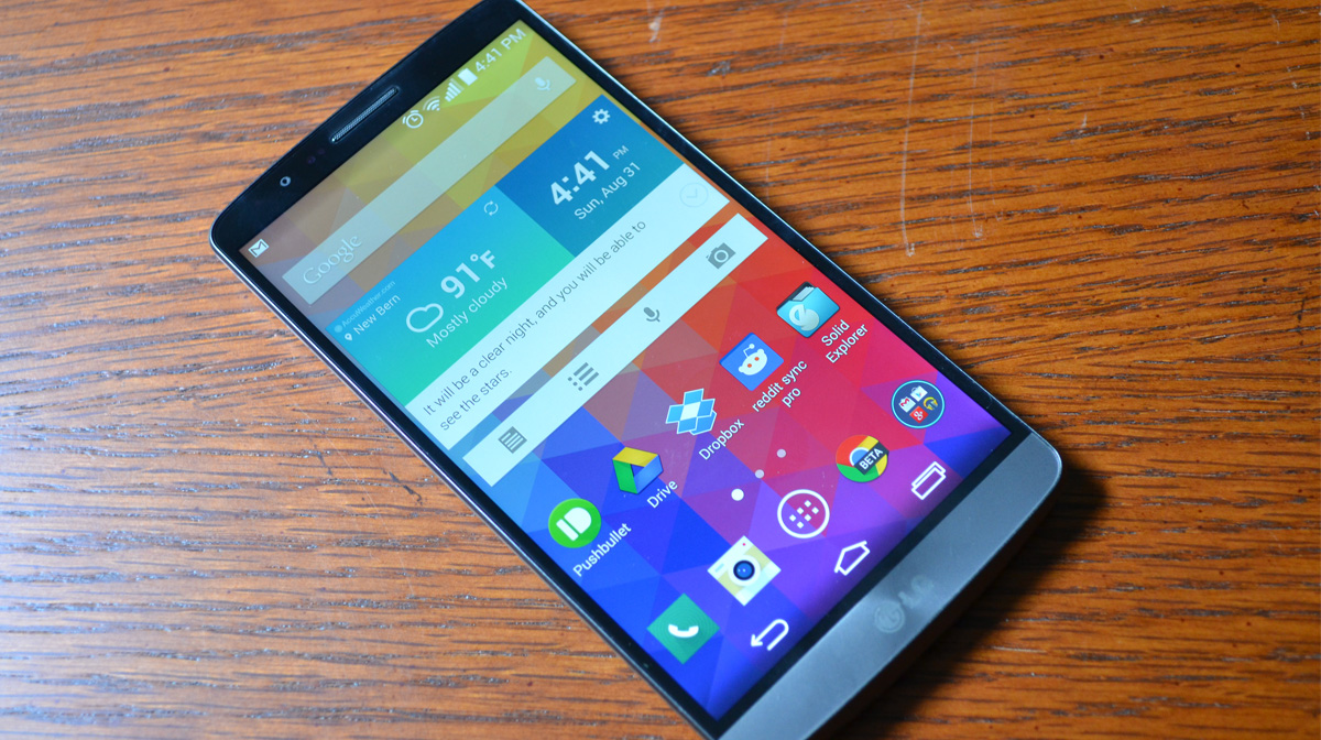 Testing The LG G3 Android Smartphone