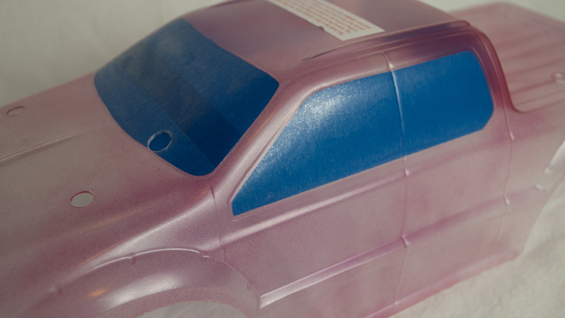 How to get started in hobby rc body painting your vehicles tested the first coat of any color should be a very light mist to help seal the edges of the masking material and ensure a drip free finish solutioingenieria Choice Image