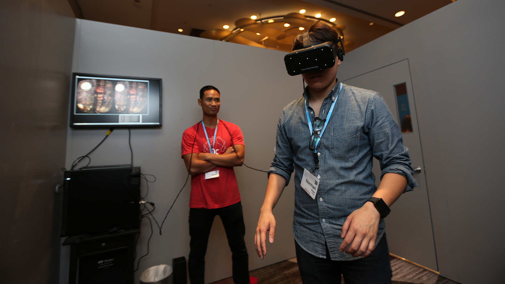 My 10 virtual reality takeaways from oculus connect tested for Room design vr
