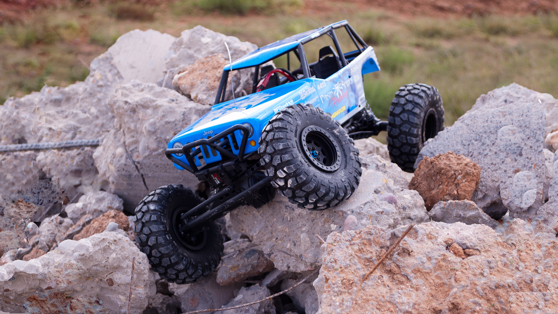 How To Get Into Hobby Rc Driving Rock Crawlers Tested Easily Programmable Remotecontrol Cars Middle Years 7 10 Crawlin Aint Easy It Takes A Capable Machine And Skilled Driver