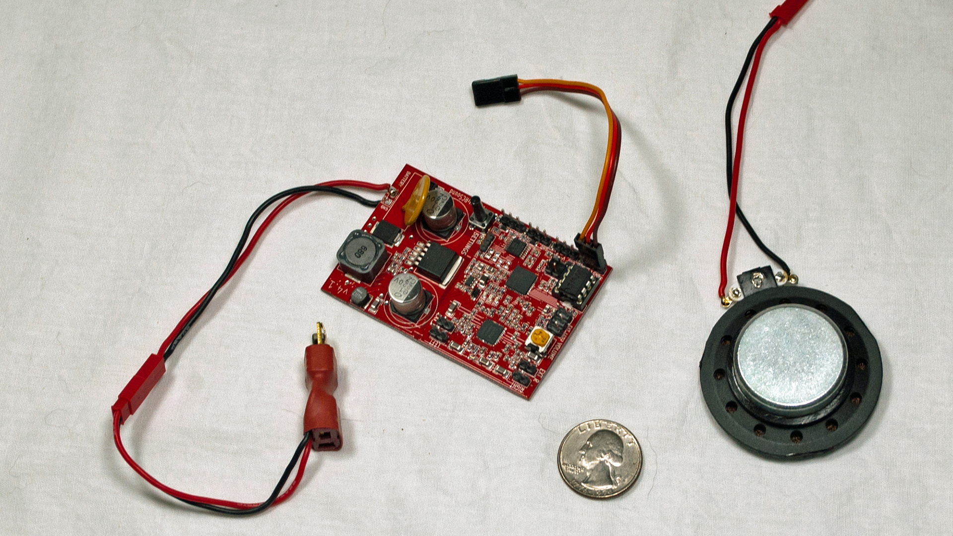 Tech Tested This Is A Kit Of Electronic Partswhich Will Allow You To Build Mw Am Rc Sound System Has Very Few Parts Which What Convinced Me Try It Creates Convincing Engine Like Sounds For Airplanes