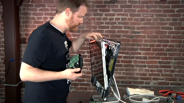 How To Take Apart An Imac And Replace Its Hard Drive