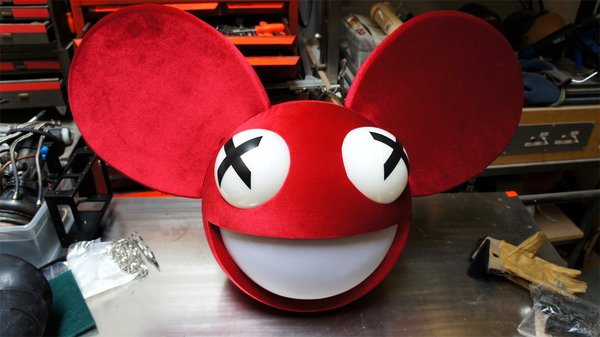 inside adam savages cave deadmau5 helmet tested