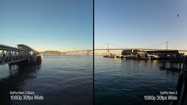 Tested GoPro Hero 3 Black Edition Vs 2 Video Quality