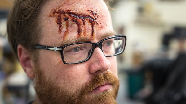 How To Apply A Realistic Bloody Wound Or Scar Makeup Tested