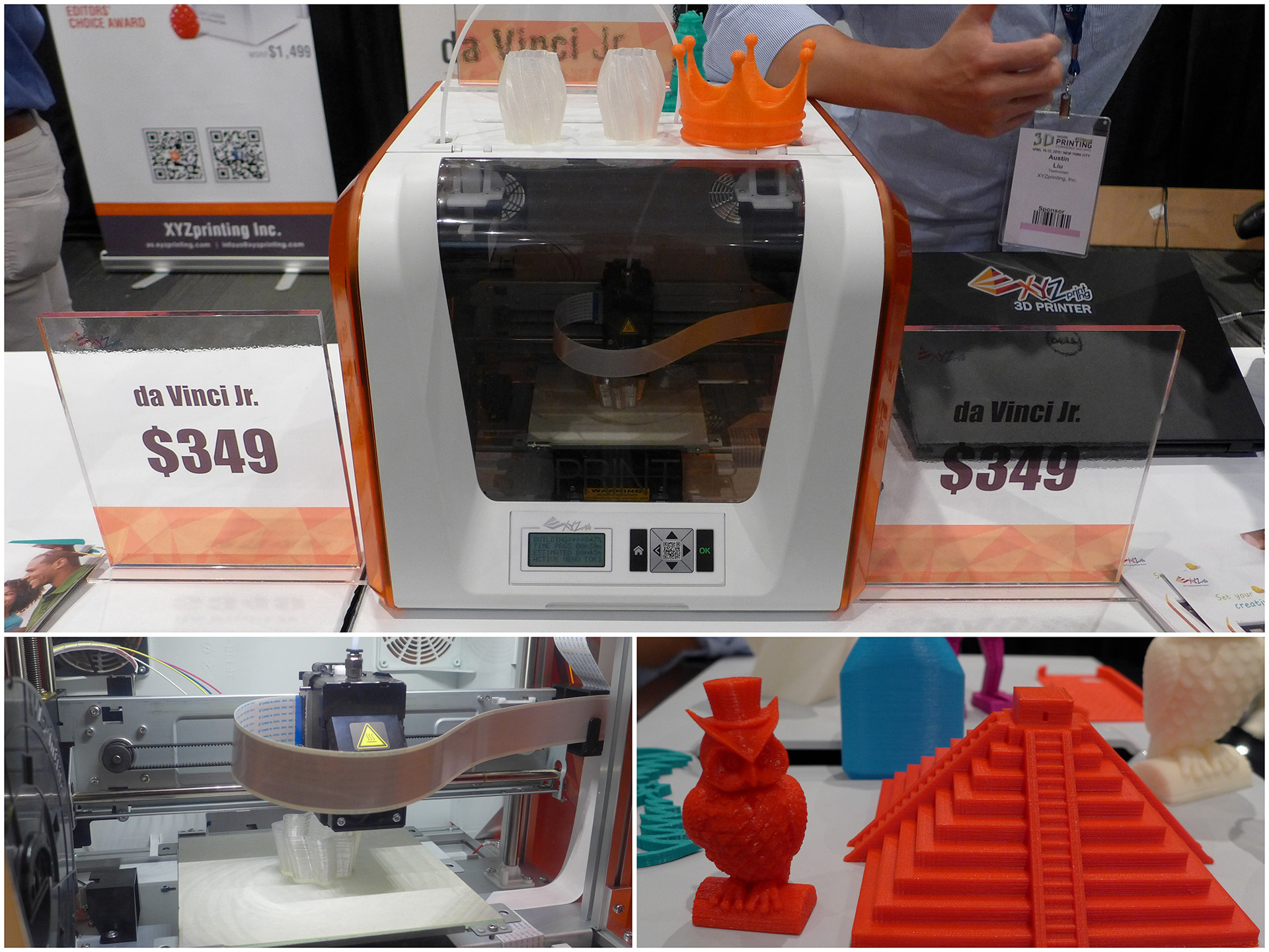 Bits to Atoms: NYC 3D Printing Expo - Tested